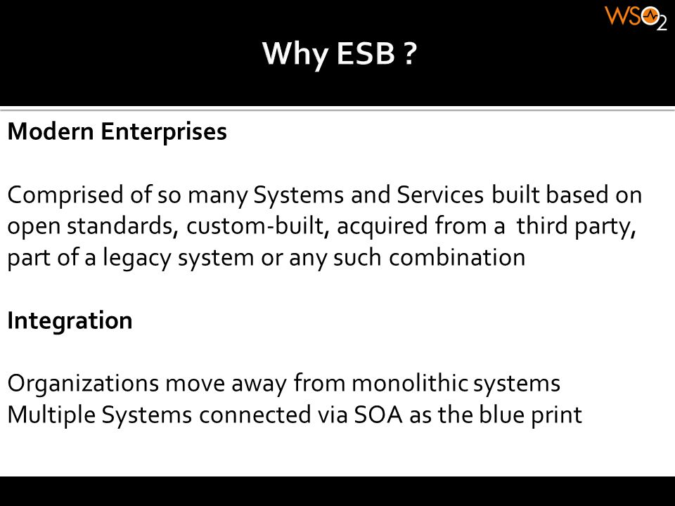 Why ESB Modern Enterprises