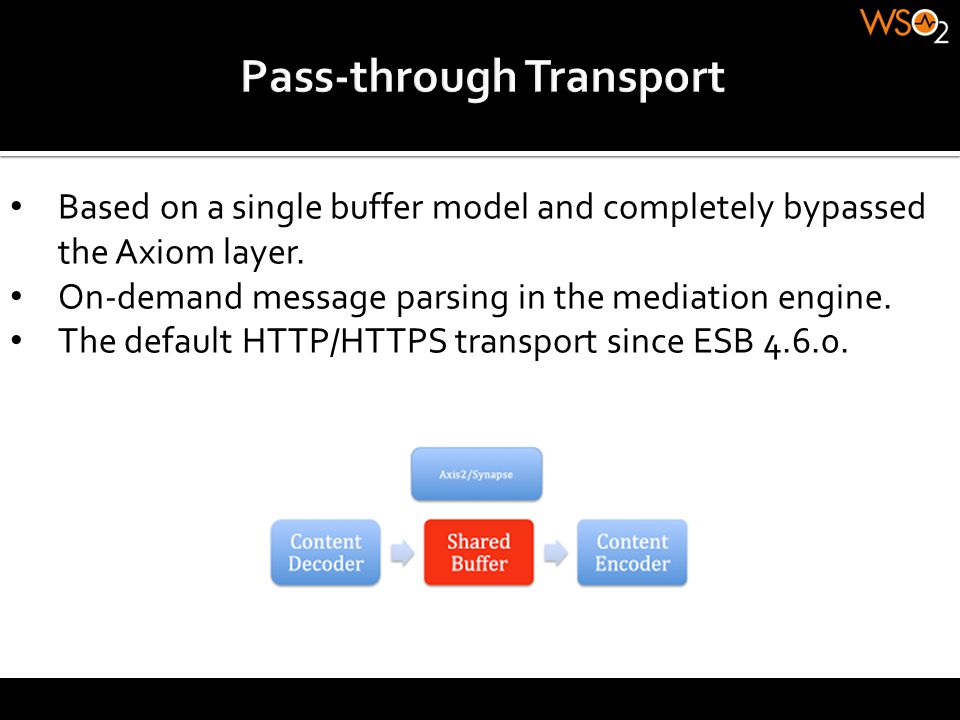 Pass-through Transport