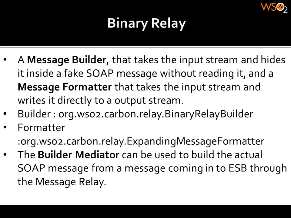 Binary Relay
