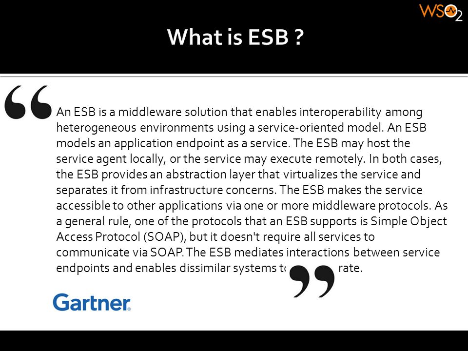 What is ESB