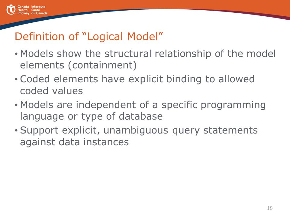 Definition of Logical Model