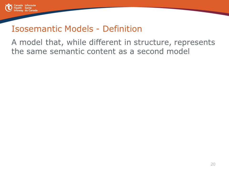 Isosemantic Models - Definition