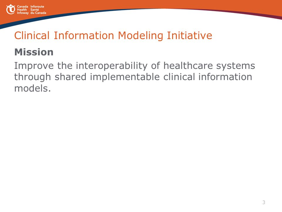 Clinical Information Modeling Initiative