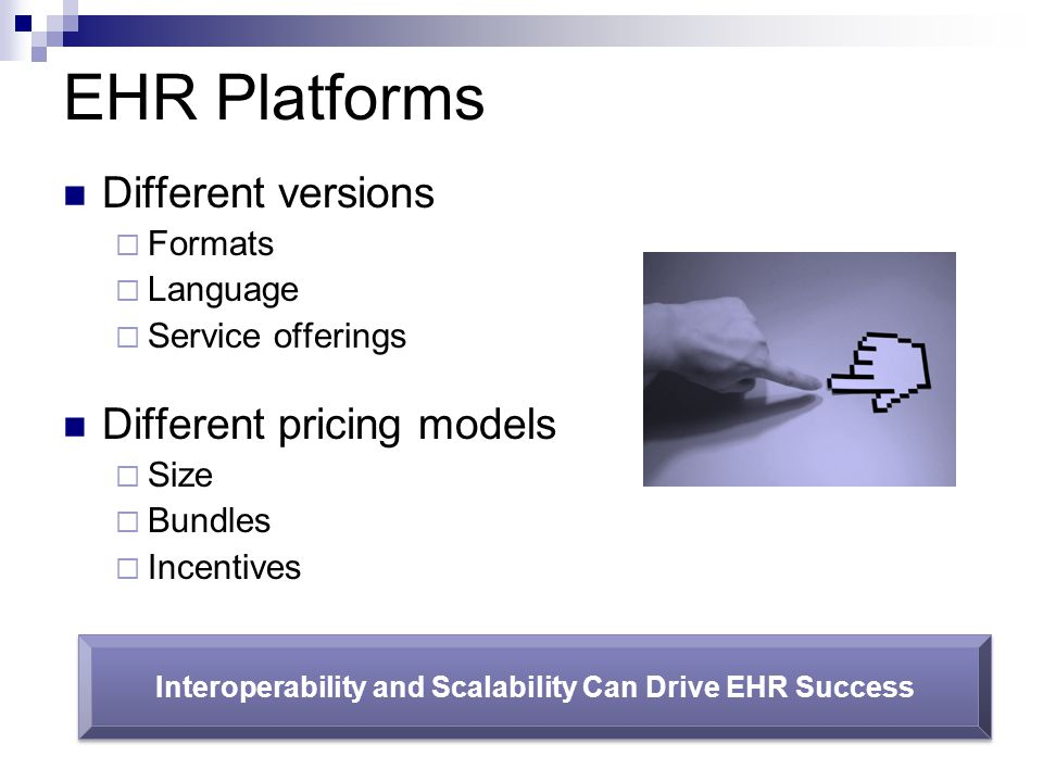 Interoperability and Scalability Can Drive EHR Success