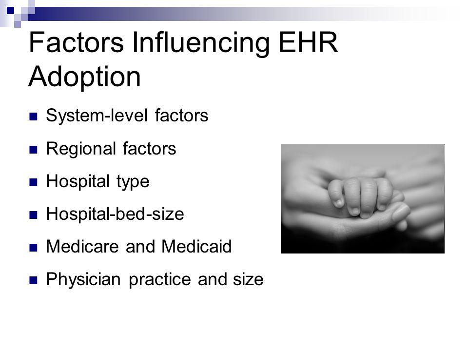 Factors Influencing EHR Adoption