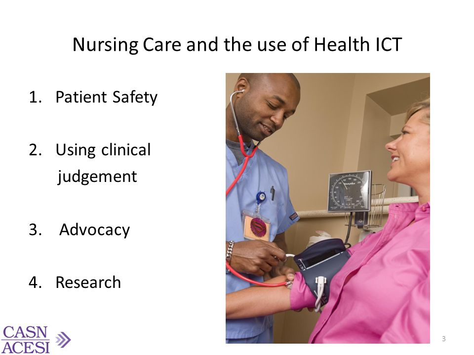 Nursing Care and the use of Health ICT