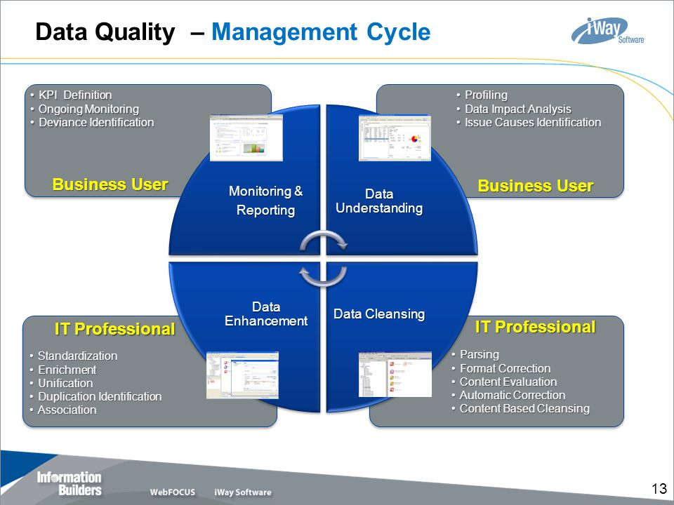 Data Quality – Management Cycle