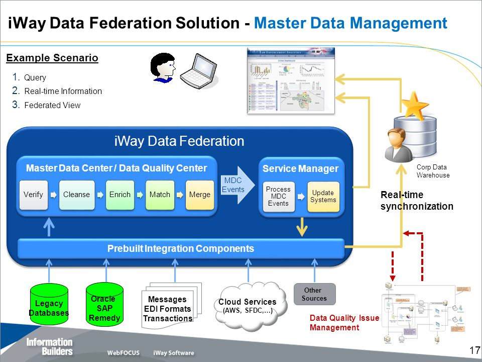 iWay Data Federation Solution - Master Data Management