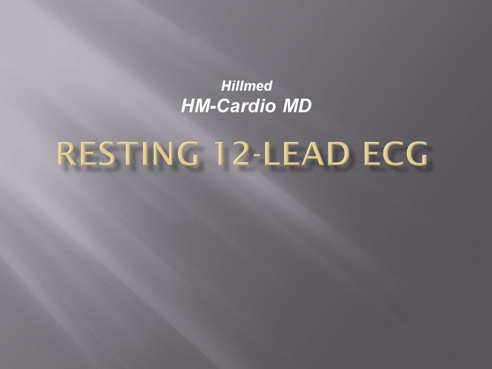 Resting 12-Lead ECG Hillmed HM-Cardio MD