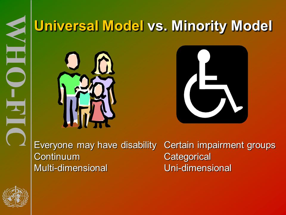Universal Model vs. Minority Model