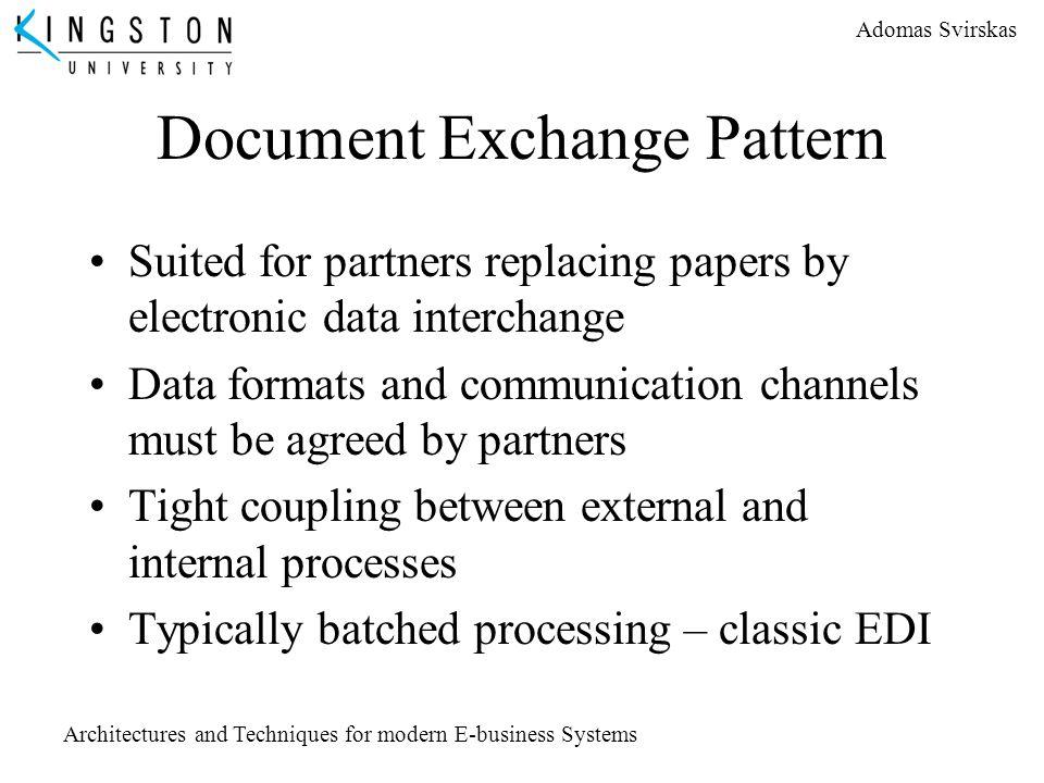 Document Exchange Pattern