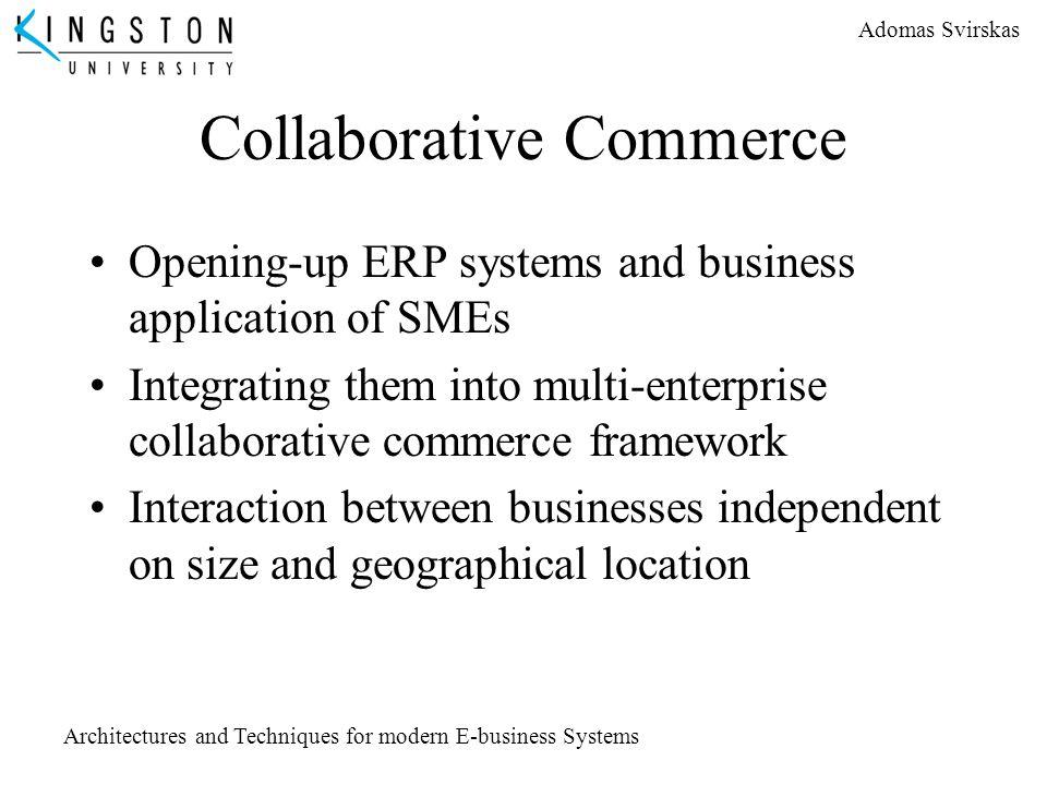 Collaborative Commerce