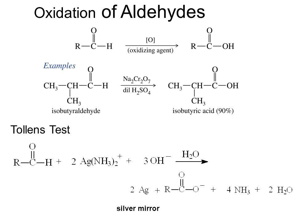 Oxidation of Aldehydes