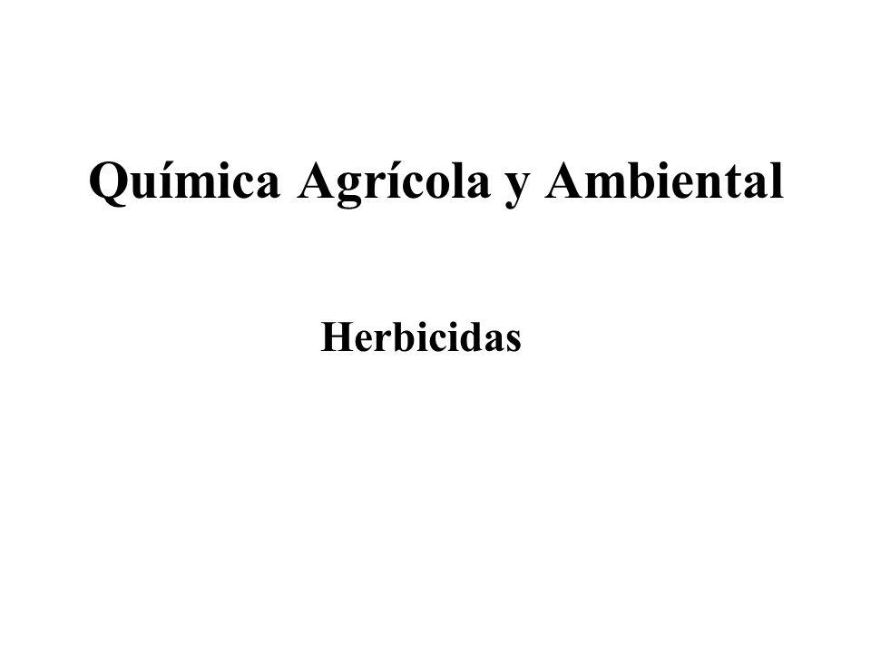 Química Agrícola y Ambiental