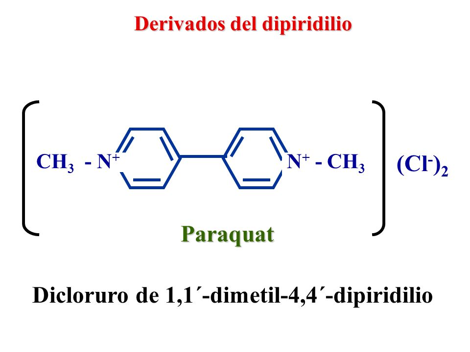 Dicloruro de 1,1´-dimetil-4,4´-dipiridilio