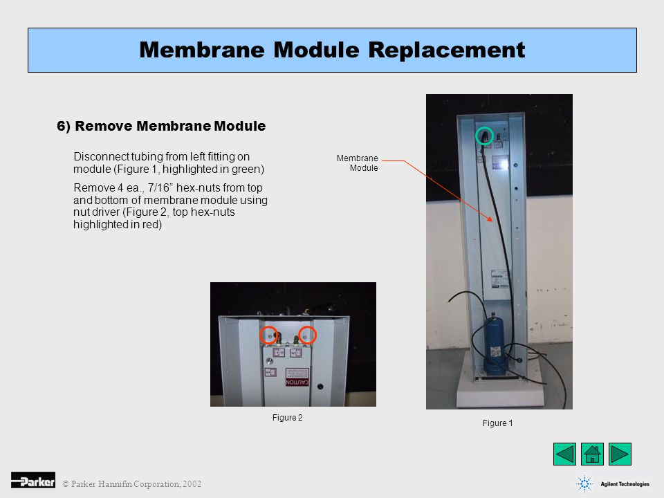 Membrane Module Replacement