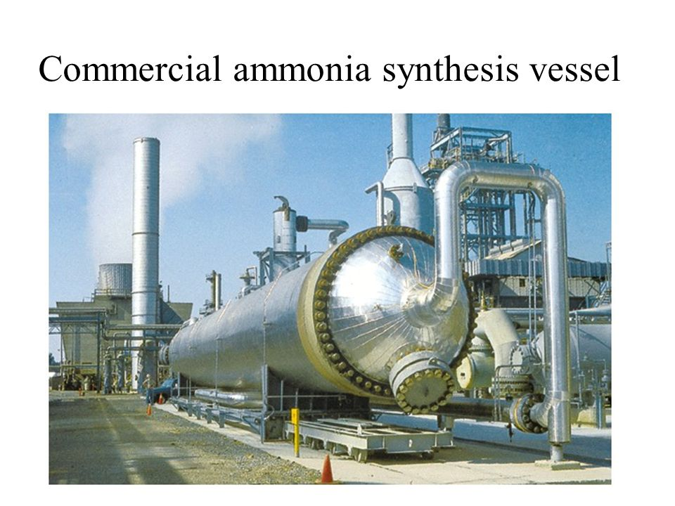 Commercial ammonia synthesis vessel