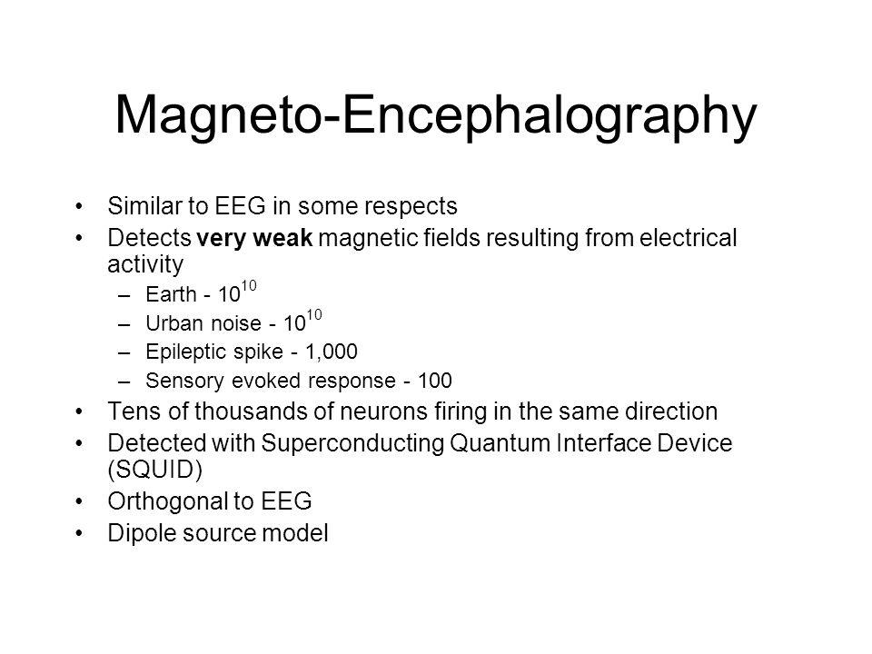 Magneto-Encephalography