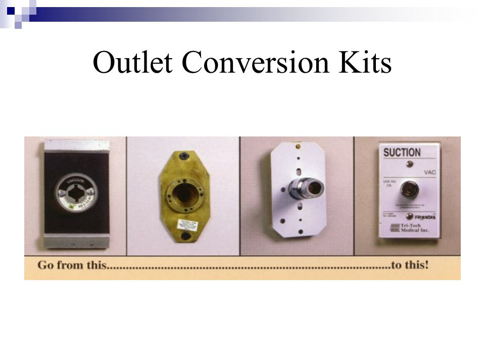 Outlet Conversion Kits