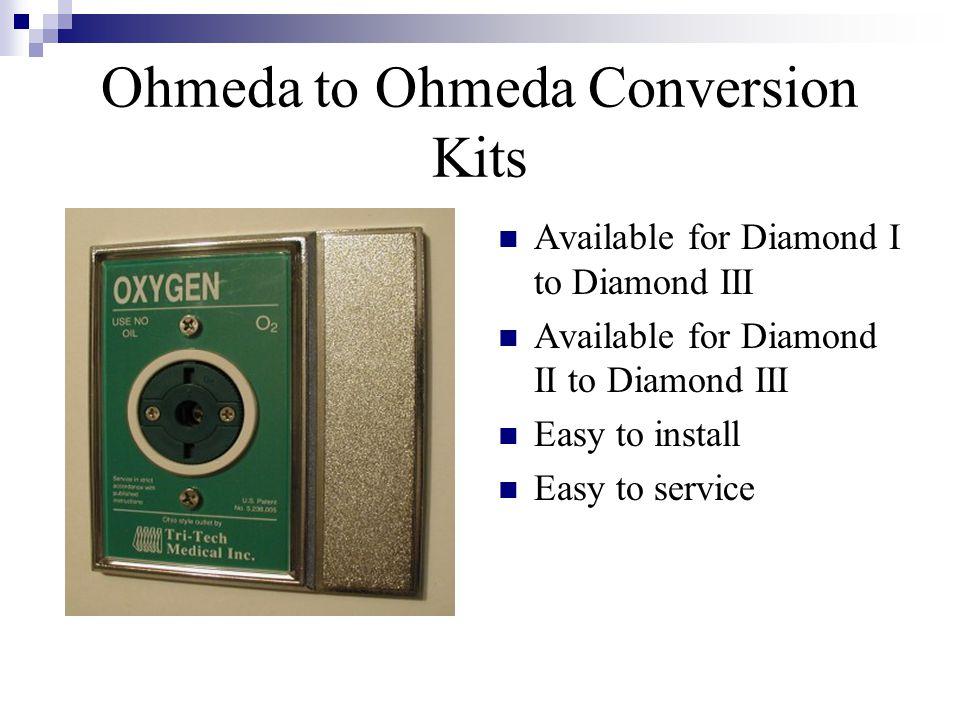 Ohmeda to Ohmeda Conversion Kits
