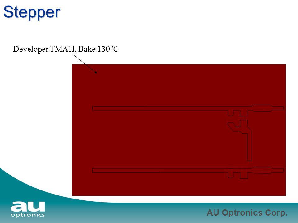 Stepper Developer TMAH, Bake 130℃