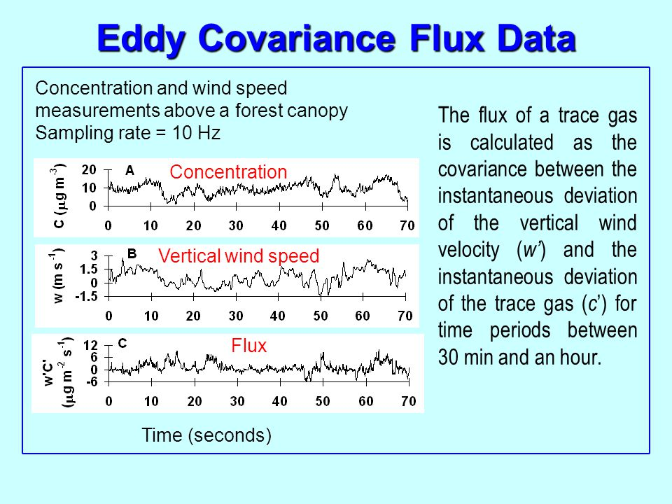 Eddy Covariance Flux Data