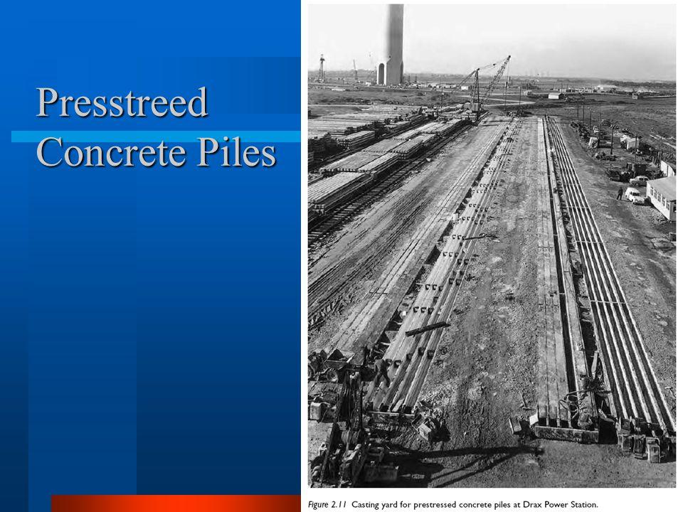 Presstreed Concrete Piles