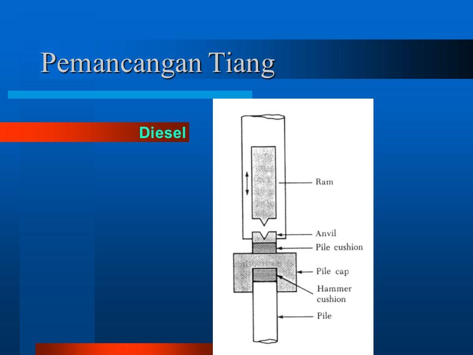 Pemancangan Tiang Diesel