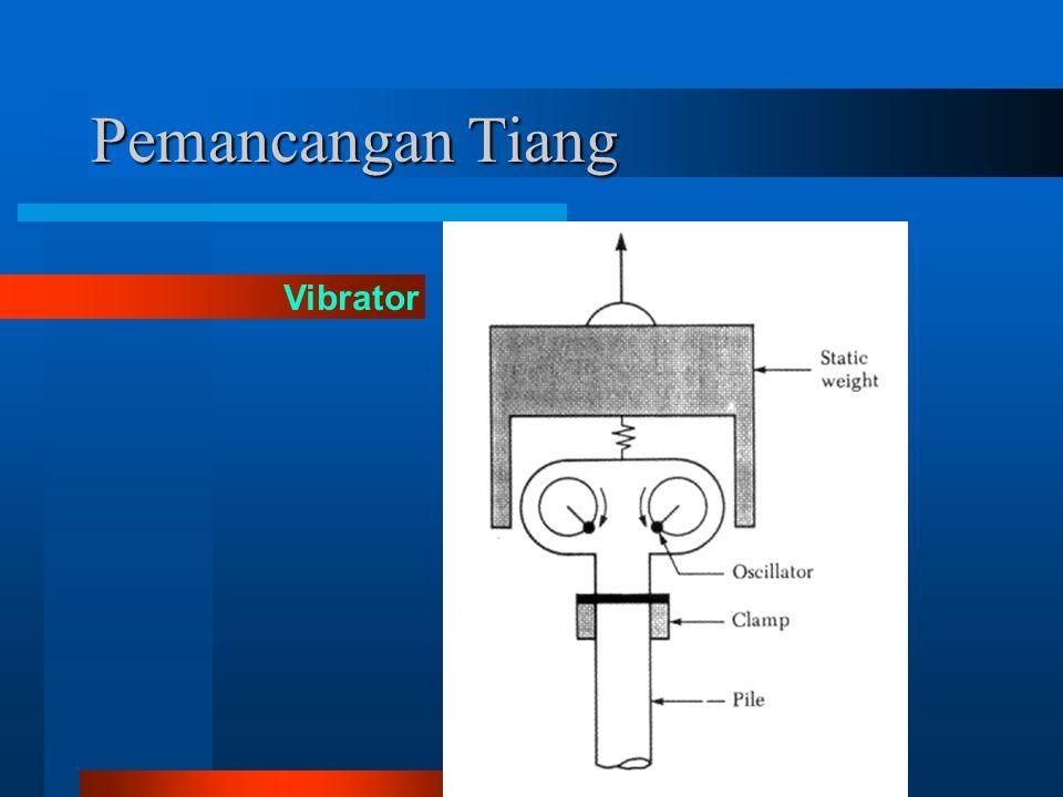 Pemancangan Tiang Vibrator