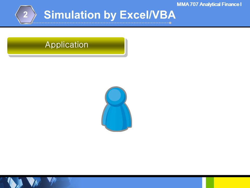 Simulation by Excel/VBA