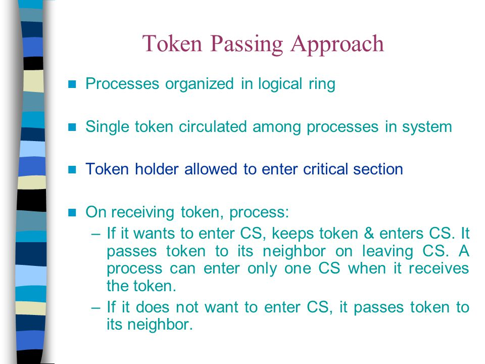 Token Passing Approach