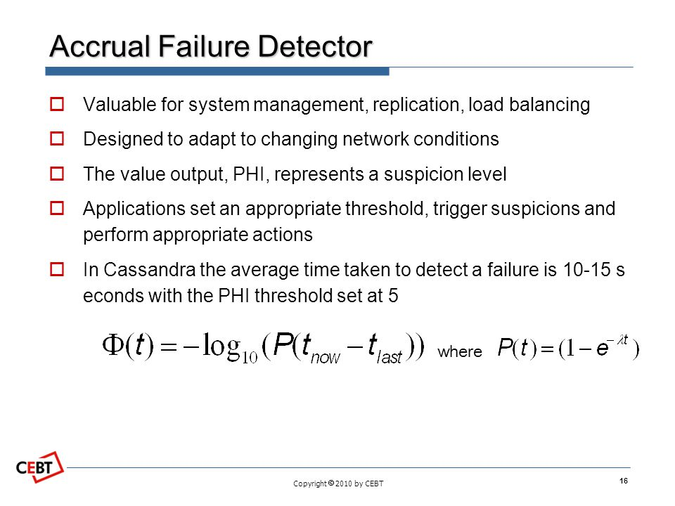 Accrual Failure Detector