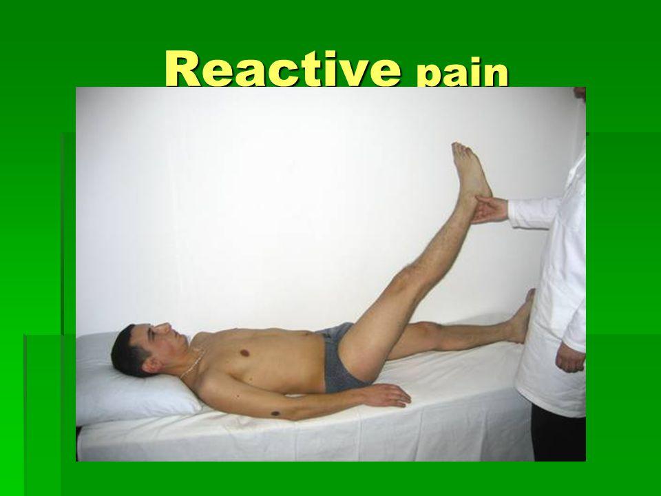 Reactive pain