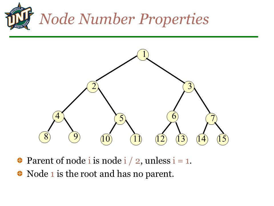 Node Number Properties