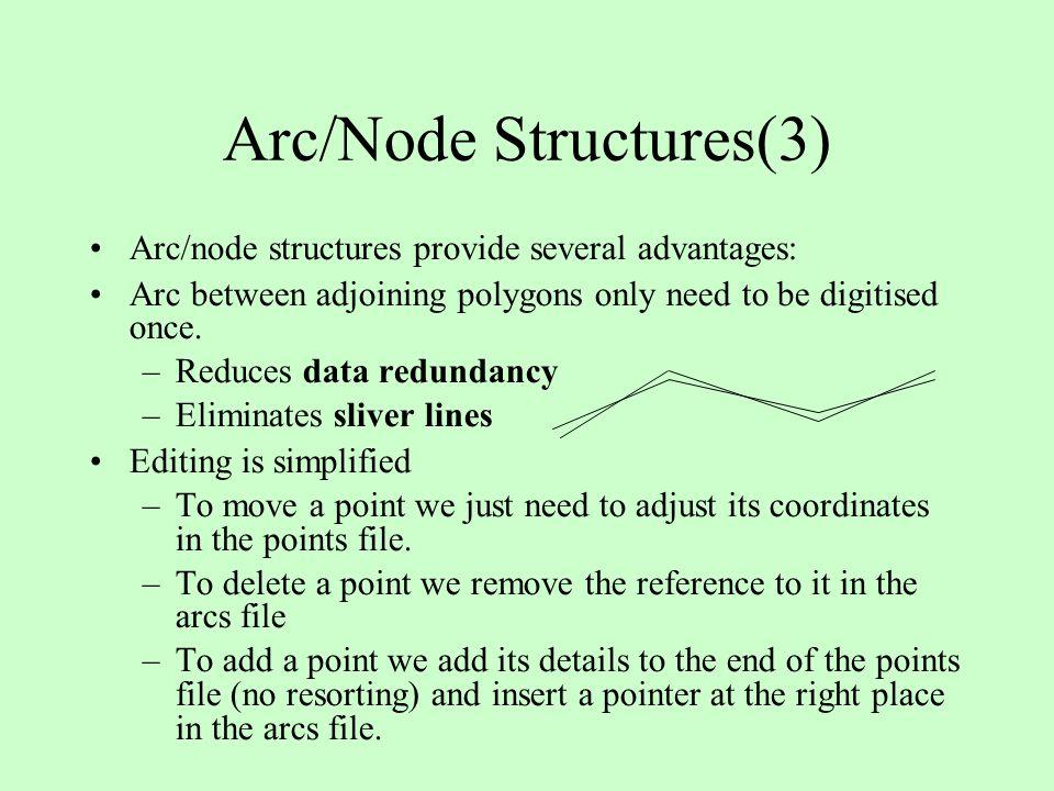Arc/Node Structures(3)