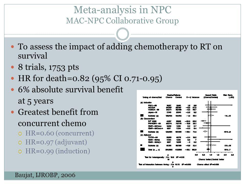 Meta-analysis in NPC MAC-NPC Collaborative Group