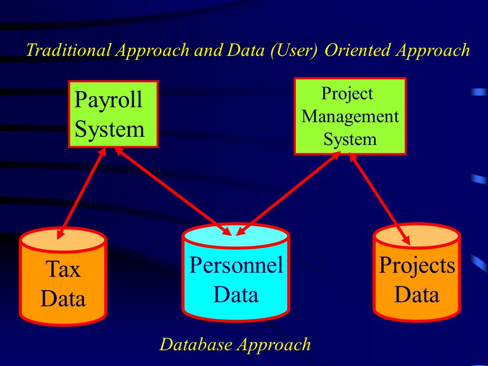 Payroll System Personnel Data Projects Data Tax Data