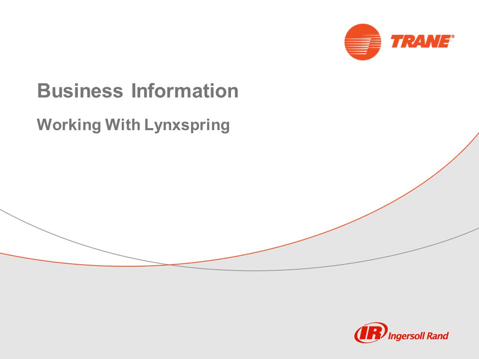 Working With Lynxspring