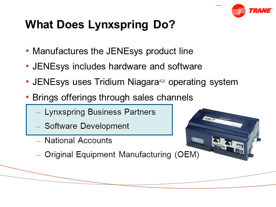 What Does Lynxspring Do