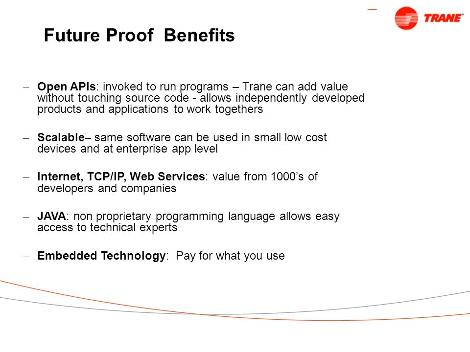 Future Proof Benefits