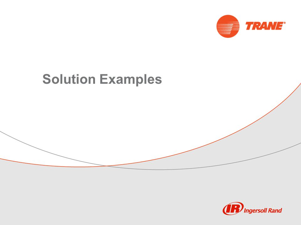 Solution Examples