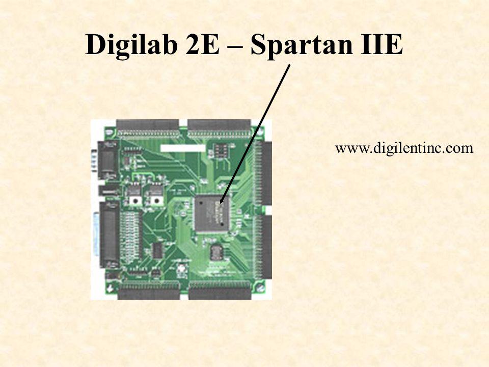 Digilab 2E – Spartan IIE www.digilentinc.com