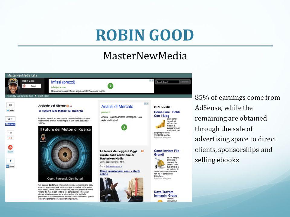 ROBIN GOOD MasterNewMedia