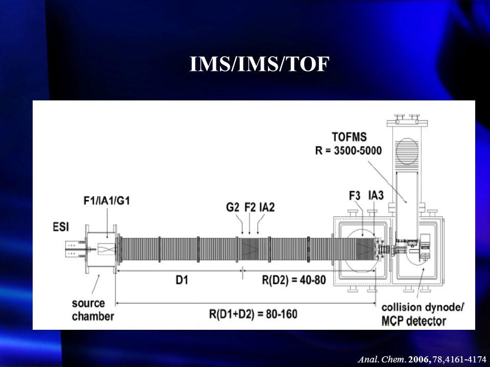 IMS/IMS/TOF Anal. Chem. 2006, 78,4161-4174
