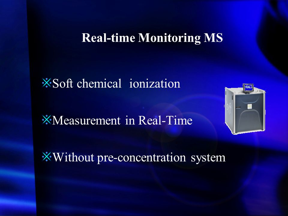 Real-time Monitoring MS