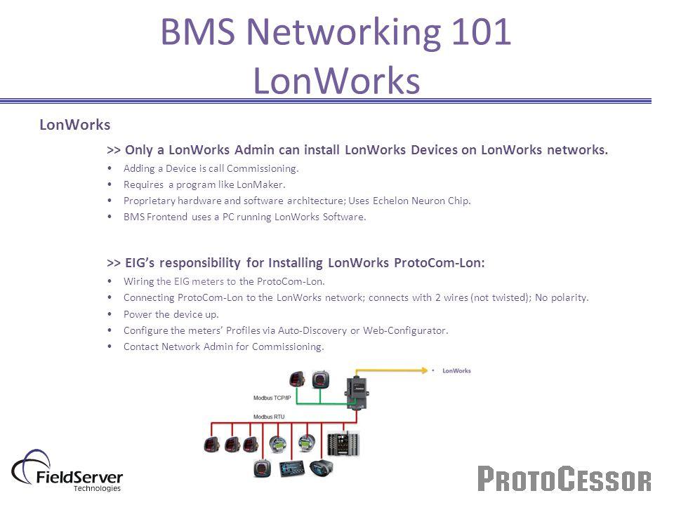 BMS Networking 101 LonWorks