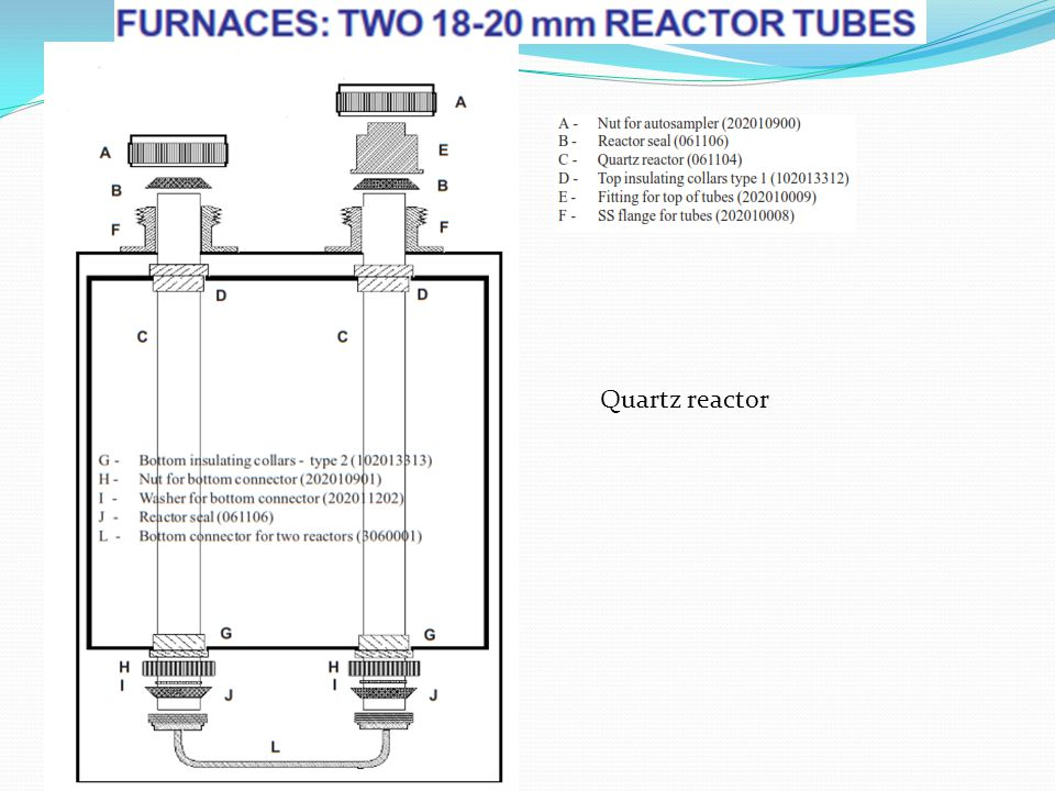 Quartz reactor