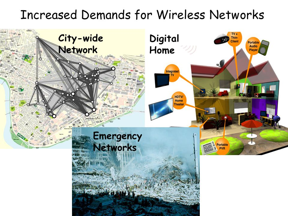 Increased Demands for Wireless Networks