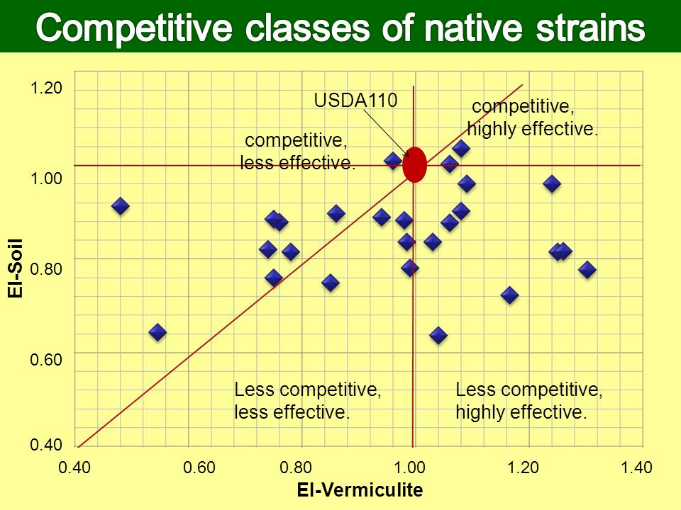 Competitive classes of native strains