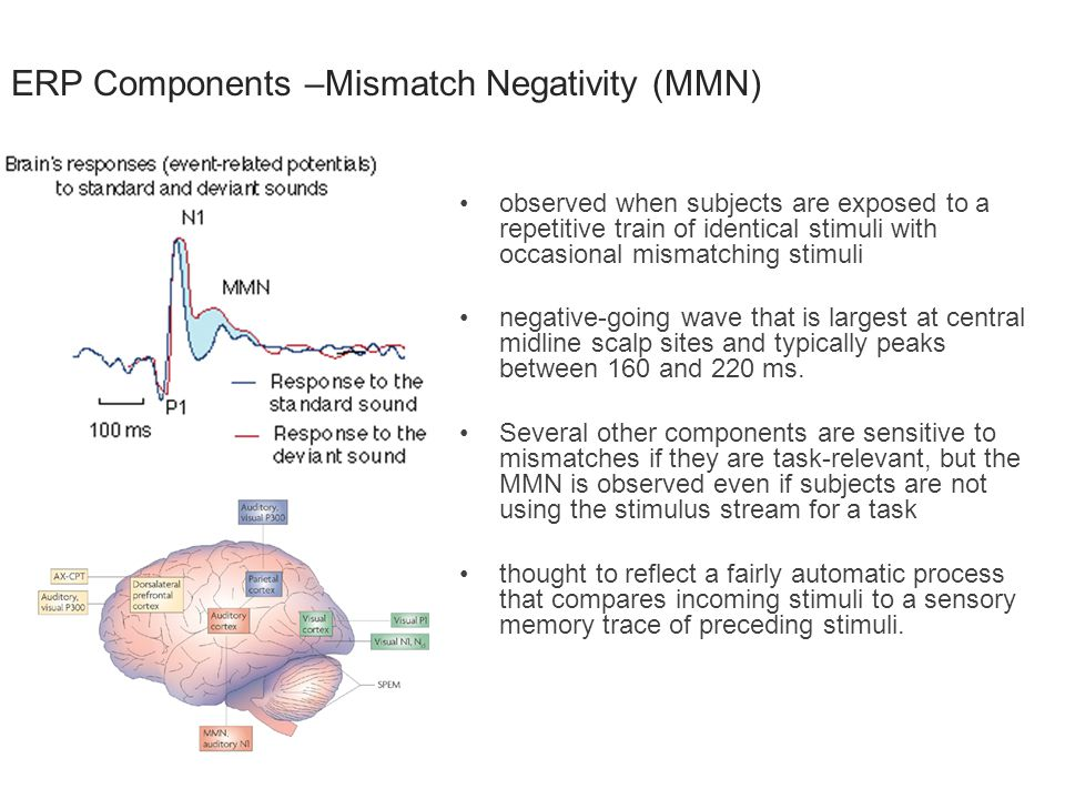 ERP Components –Mismatch Negativity (MMN)